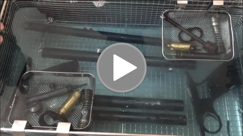 VIDEO: Pro Gun Cleaning Demo – Tranq Gun