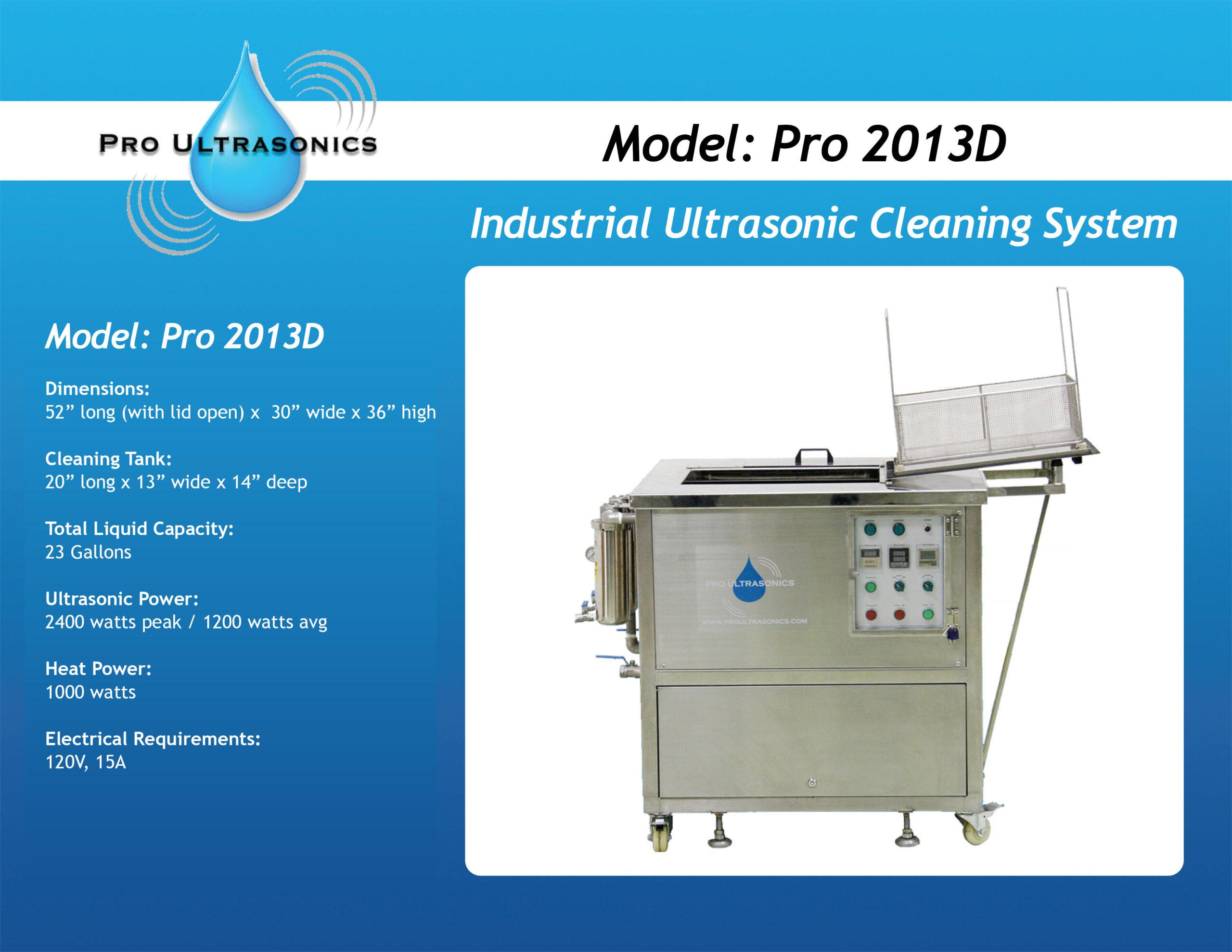 Pro 2013D