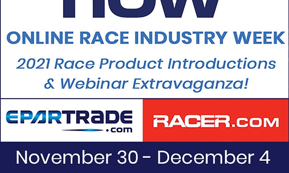 Catch Our Live Webinar during Online Racing Week
