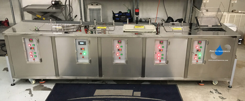 Custom unit - 5 stage with hydraulics